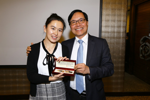 Grand Prize given by Prof. Paul Cheung